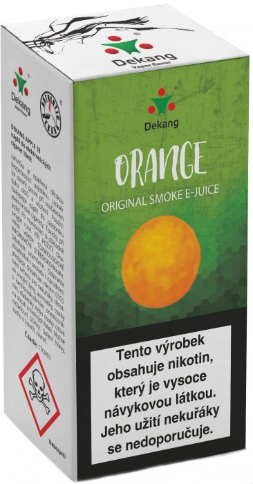 Liquid Dekang Orange 10ml - 16mg (Pomeranč)