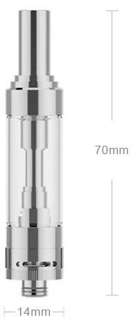 iSmoka-Eleaf GS AIR 2 14mm clearomizer Silver