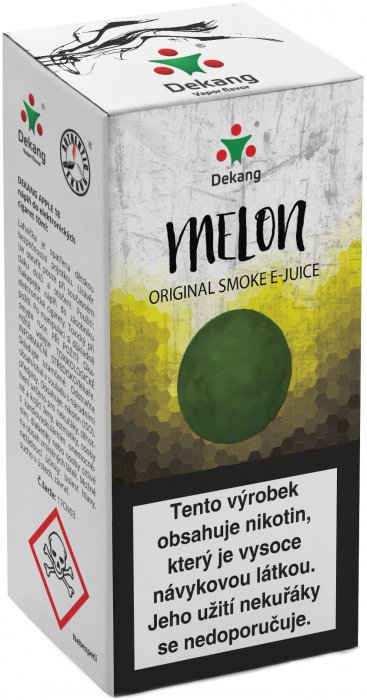 Liquid Dekang Melon 10ml-3mg (žlutý meloun)