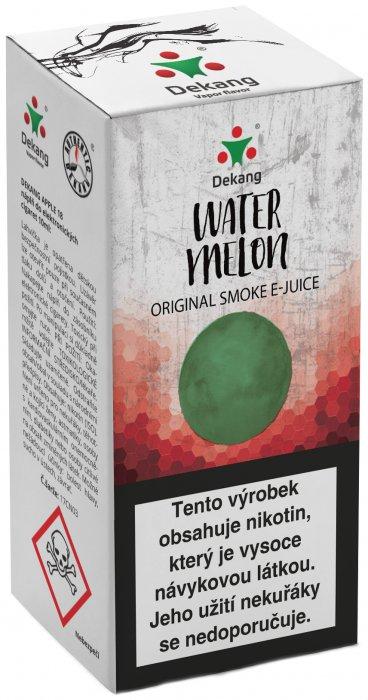 Liquid Dekang Watermelon 10ml-3mg (vodní meloun)