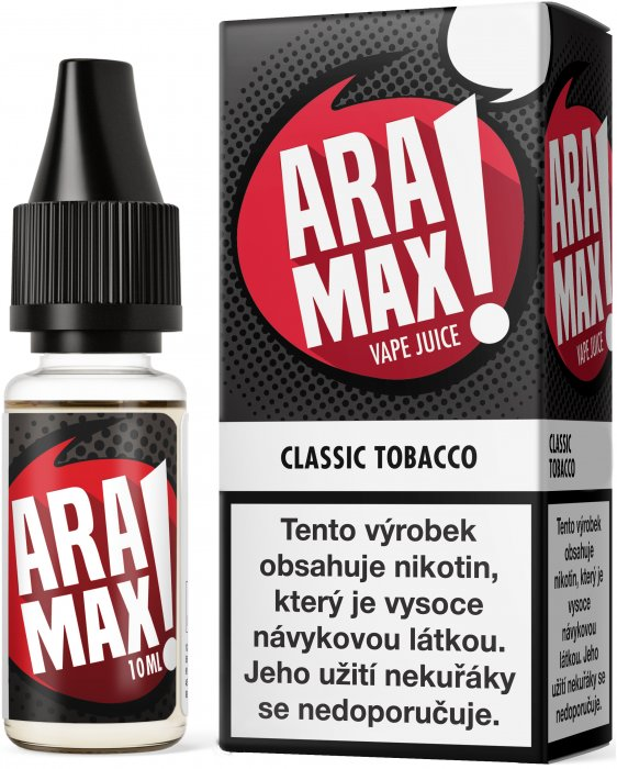 Liquid ARAMAX Classic Tobacco 10ml-0mg