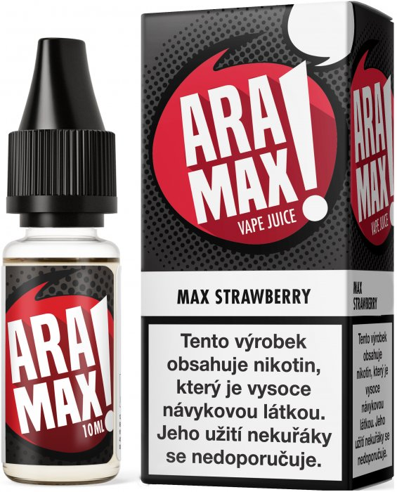Liquid ARAMAX Max Strawberry 10ml-3mg