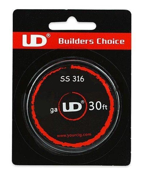 UD SS316 odporový drát 28GA 0,3mm 10m