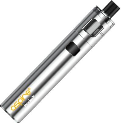 aSpire PockeX AIO elektronická cigareta 1500mAh Stříbrná 1 ks