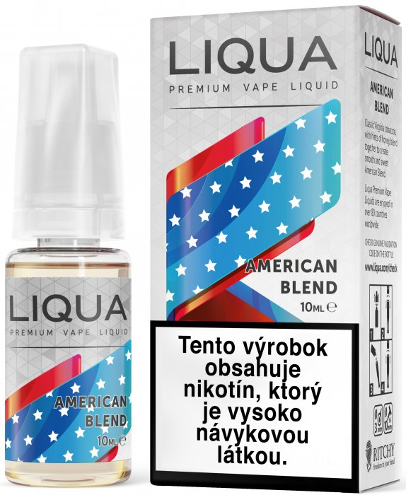 Liquid LIQUA SK Elements American Blend 10ml-12mg (Americký míchaný tabák)