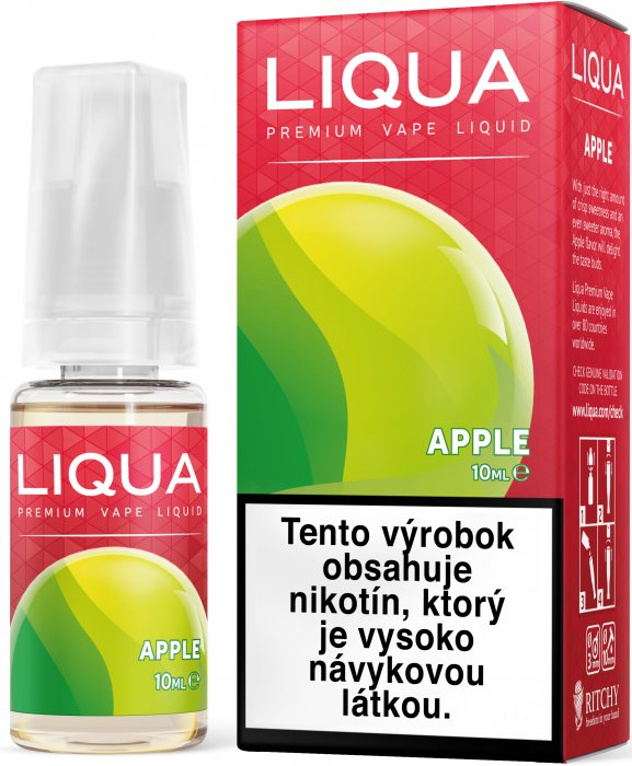 Liquid LIQUA SK Elements Apple 10ml-3mg (jablko)