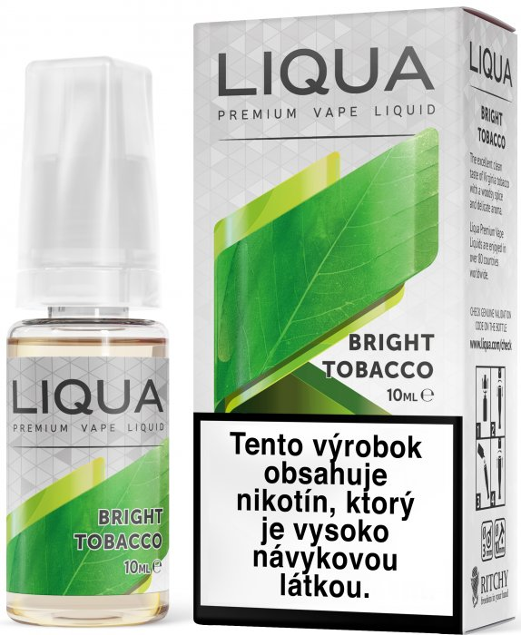 Liquid LIQUA SK Elements Bright Tobacco 10ml-6mg (čistá tabáková příchuť)
