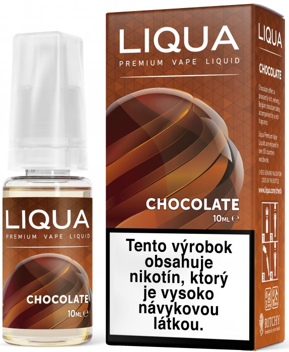 Liquid LIQUA SK Elements Chocolate 10ml-18mg (čokoláda)
