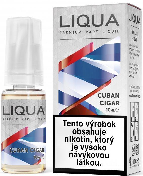 Liquid LIQUA SK Elements Cuban Tobacco 10ml-6mg (Kubánský doutník)