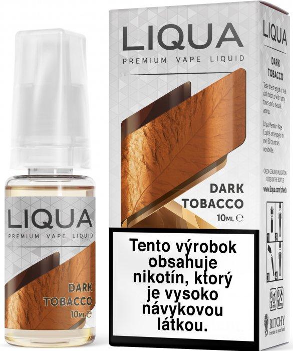 Liquid LIQUA SK Elements Dark Tobacco 10ml-6mg (Silný tabák)
