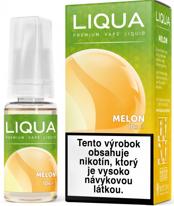 Liquid LIQUA SK Elements Melon 10ml-3mg (Žlutý meloun)