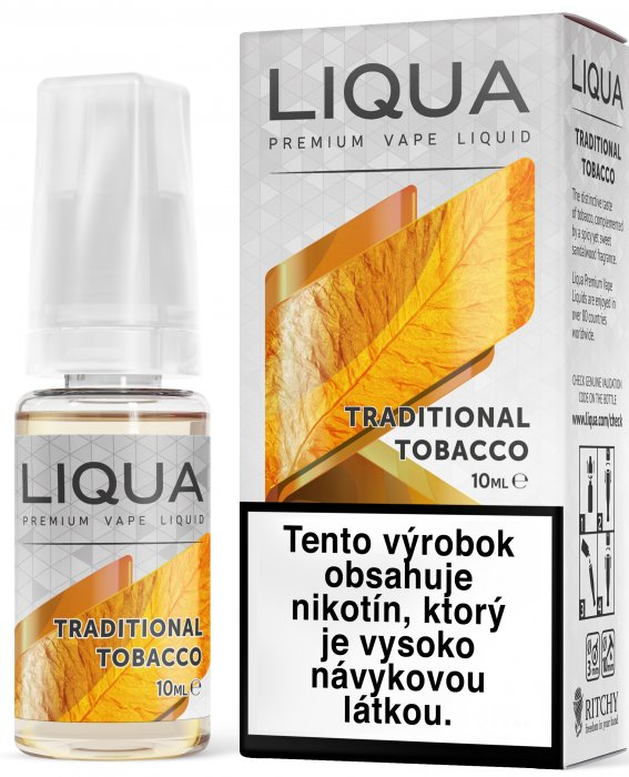 Liquid LIQUA SK Elements Traditional Tobacco 10ml-3mg (Tradiční tabák)