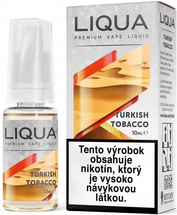 Liquid LIQUA SK Elements Turkish Tobacco 10ml-12mg (Turecký tabák)
