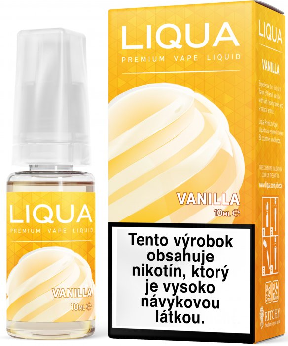 Liquid LIQUA SK Elements Vanilla 10ml-6mg (Vanilka)