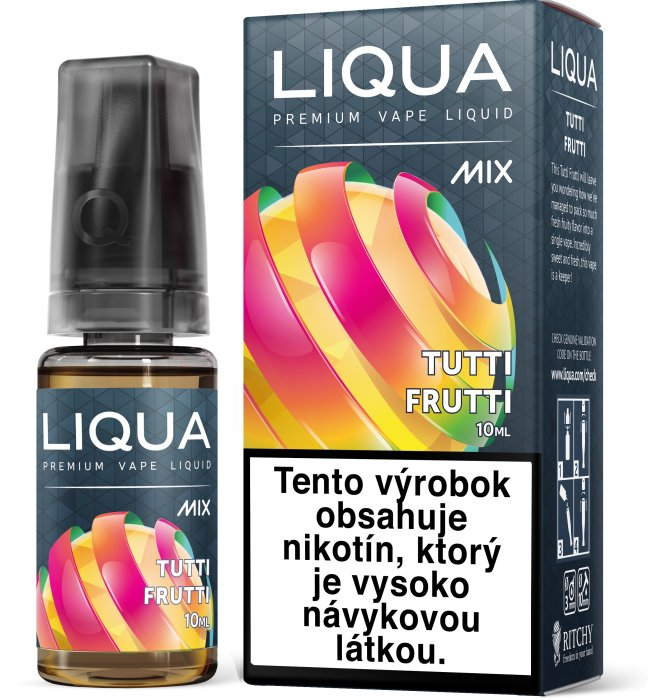 Liquid LIQUA SK MIX Tutti Frutti 10ml-6mg