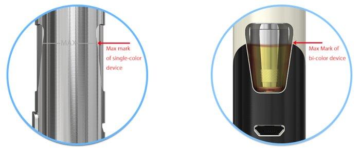 Joyetech eGo AIO elektronická cigareta 1500mAh Crackle B
