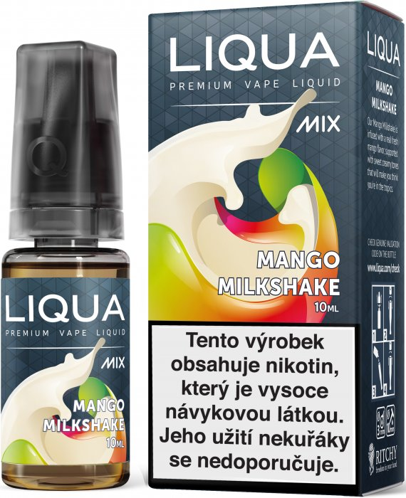 Liquid LIQUA CZ MIX Mango Milkshake 10ml-12mg