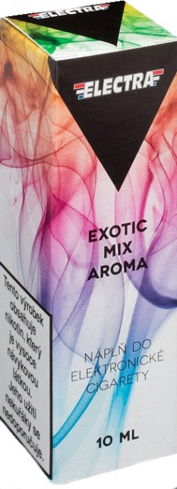 Liquid ELECTRA Exotic mix 10ml - 12mg (Mix exotického ovoce)