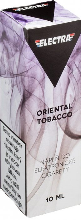 Liquid ELECTRA Oriental Tobacco 10ml - 0mg