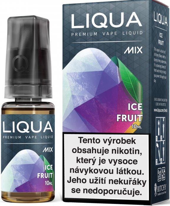 Liquid LIQUA CZ MIX Ice Fruit 10ml-12mg