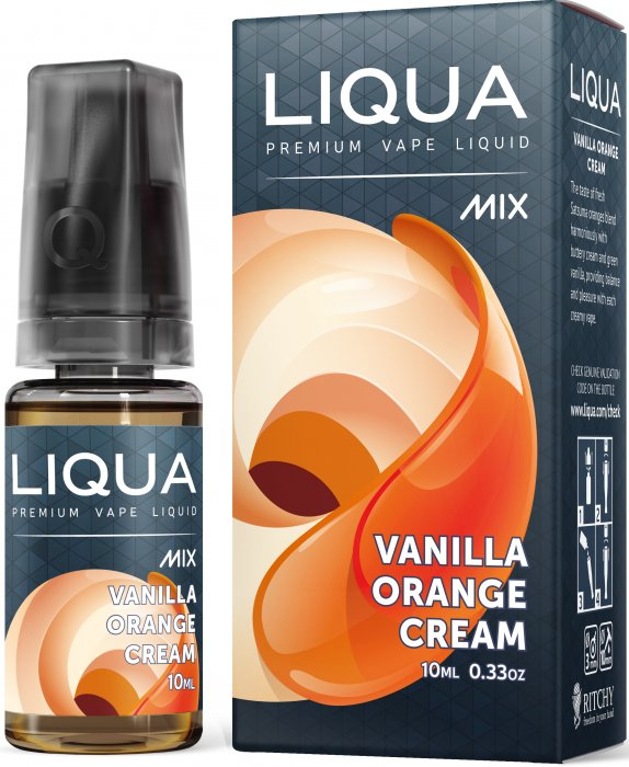 Liquid LIQUA CZ MIX Vanilla Orange Cream 10ml-0mg