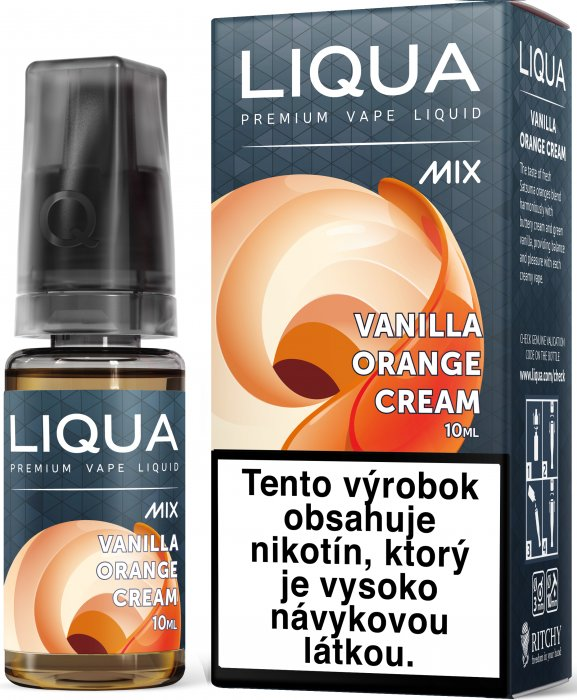 Liquid LIQUA SK MIX Vanilla Orange Cream 10ml-6mg