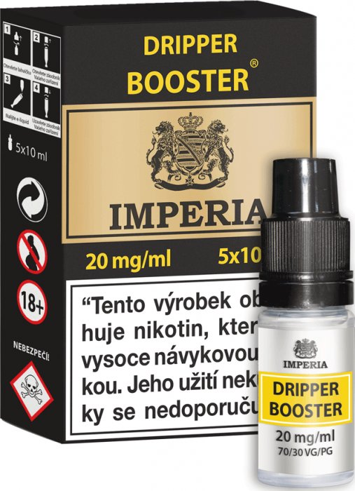 Dripper Booster CZ IMPERIA 5x10ml PG30-VG70 20mg