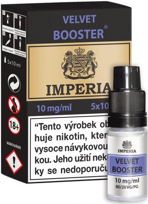 Velvet  Booster CZ IMPERIA 5x10ml PG20-VG80 10mg