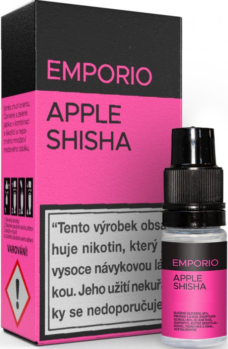Liquid EMPORIO Apple Shisha 10ml -3mg