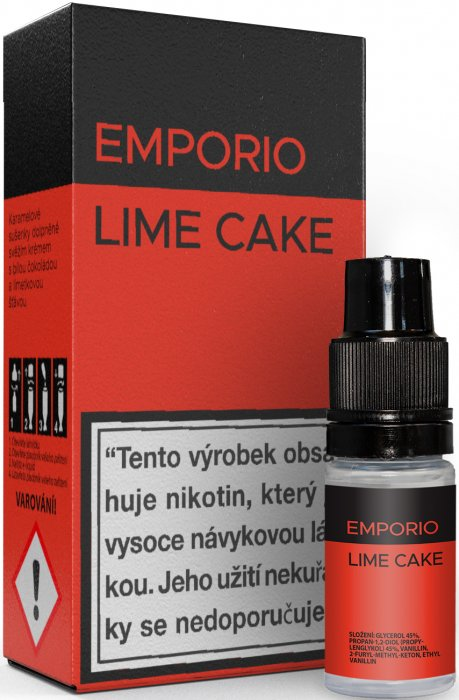 Liquid EMPORIO Lime Cake 10ml - 1,5mg