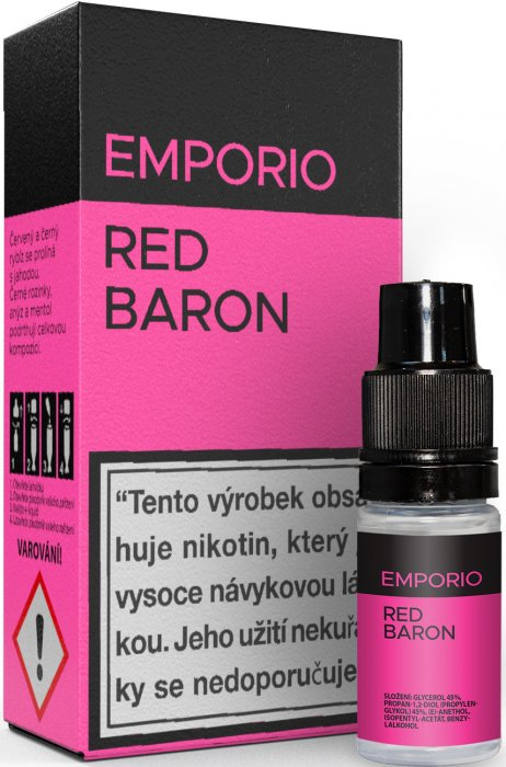 Liquid EMPORIO Red Baron 10ml - 12mg