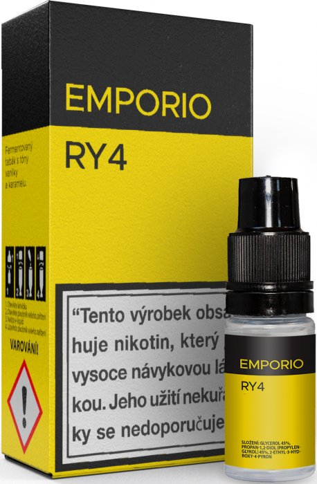 Liquid EMPORIO RY4 10ml - 1,5mg