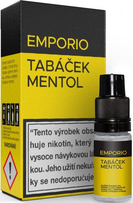Liquid EMPORIO Tobacco - Menthol 10ml - 18mg