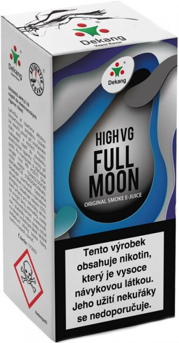Liquid Dekang High VG Full Moon 10ml - 6mg (Maracuja bonbon)