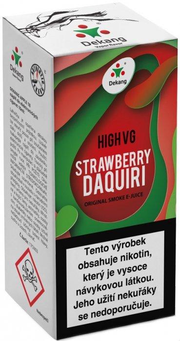Liquid Dekang High VG Strawberry Daquiri 10ml - 3mg