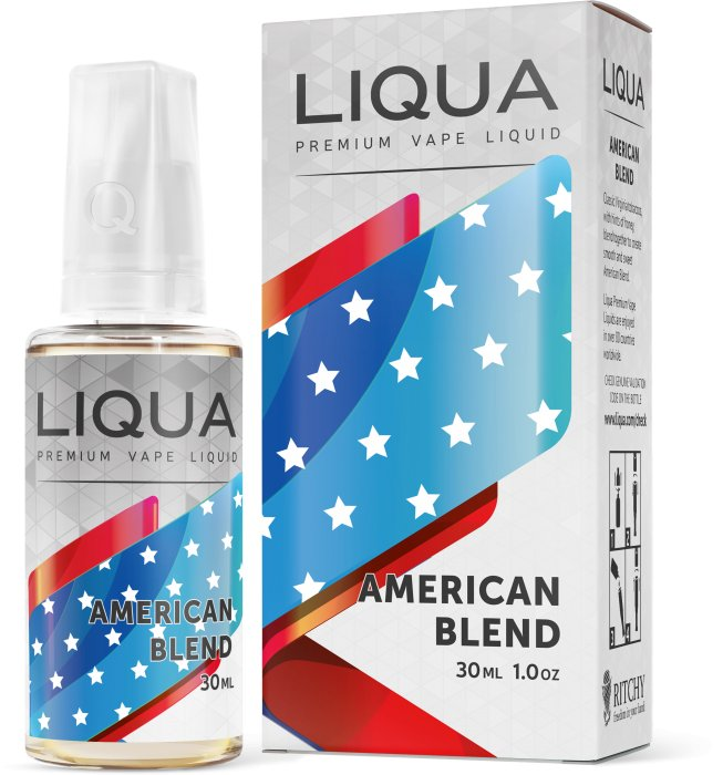 Liquid LIQUA SK Elements American Blend 30ml-0mg (Americký míchaný tabák)