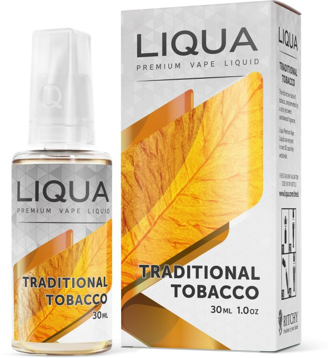 Liquid LIQUA SK Elements Traditional Tobacco 30ml-0mg (Tradiční tabák)