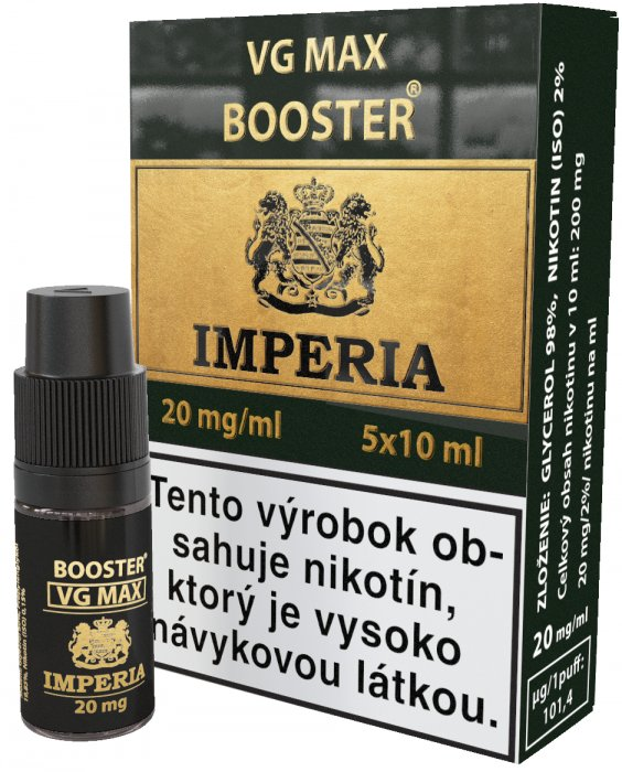 VG Max Booster SK IMPERIA 5x10ml VG100 20mg