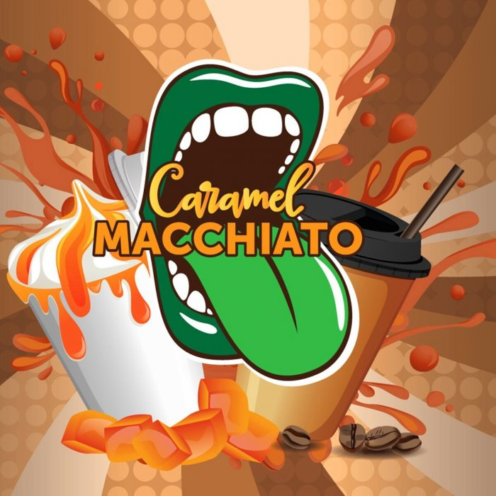 Příchuť Big Mouth Classical - Caramel Macchiato