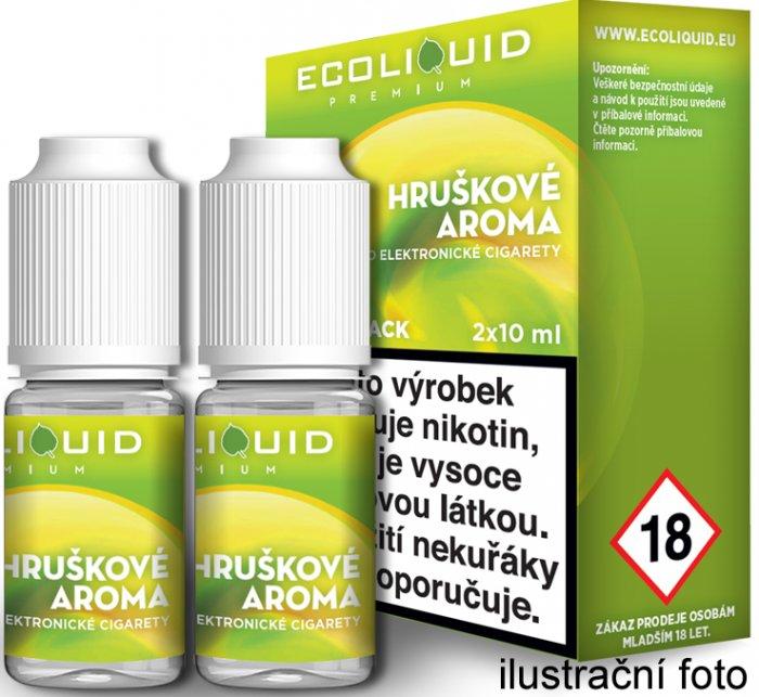 Liquid Ecoliquid Premium 2Pack Pear 2x10ml - 12mg (Hruška)