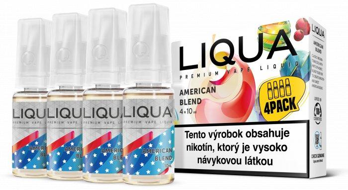 Liquid LIQUA SK Elements 4Pack American Blend 4x10ml-3mg (Americký míchaný tabák)
