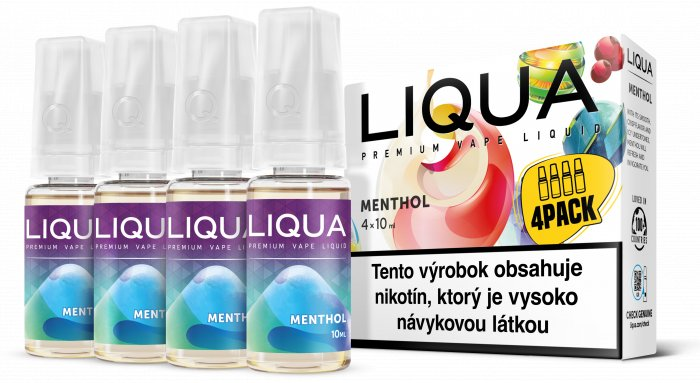 Liquid LIQUA SK Elements 4Pack Menthol 4x10ml-6mg (Mentol)