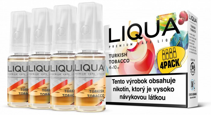 Liquid LIQUA SK Elements 4Pack Turkish tobacco 4x10ml-3mg (Turecký tabák)