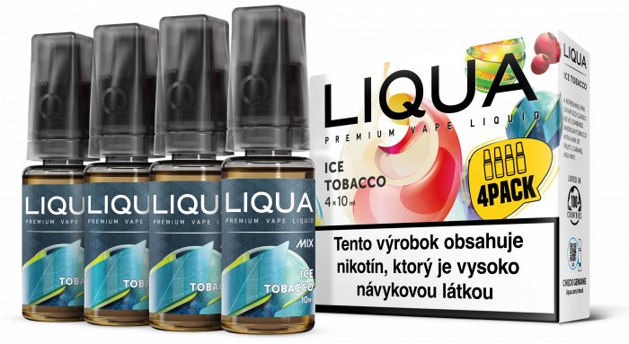 Liquid LIQUA SK MIX 4Pack Ice Tobacco 10ml-6mg