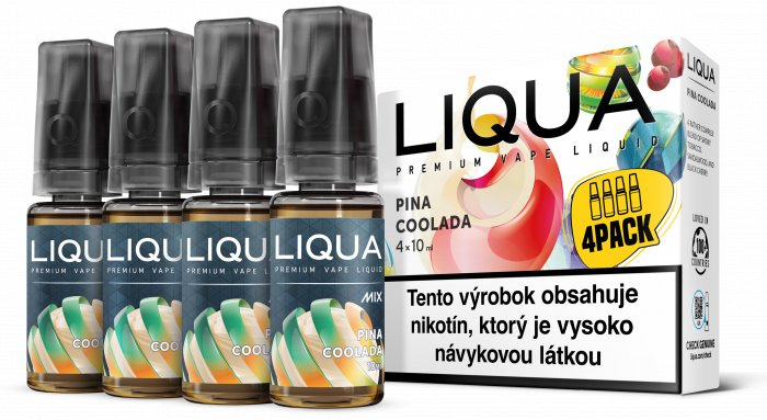 Liquid LIQUA SK MIX 4Pack Pina Coolada 10ml-3mg
