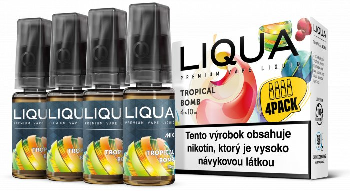 Liquid LIQUA SK MIX 4Pack Tropical Bomb 10ml-6mg