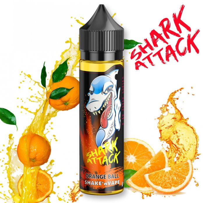 Příchuť IMPERIA Shark Attack - Shake and Vape 10ml Orange Ball