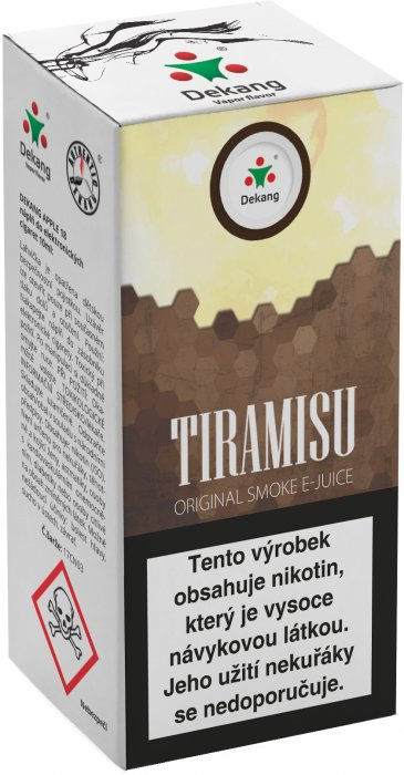 Liquid Dekang Tiramisu 10ml - 18mg (Tradiční italský dezert)