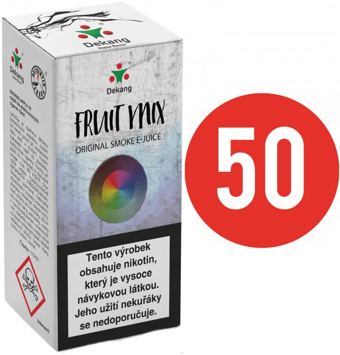 Liquid Dekang Fifty Fruit Mix 10ml - 3mg (Ovocný mix)