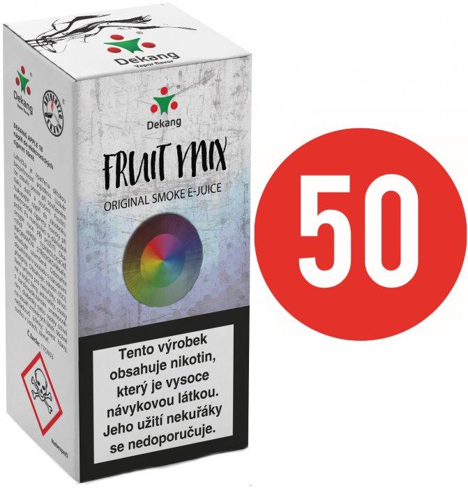 Liquid Dekang Fifty Fruit Mix 10ml - 3mg (Ovocný mix)